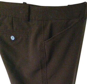 Worthington Straight Pants Brown