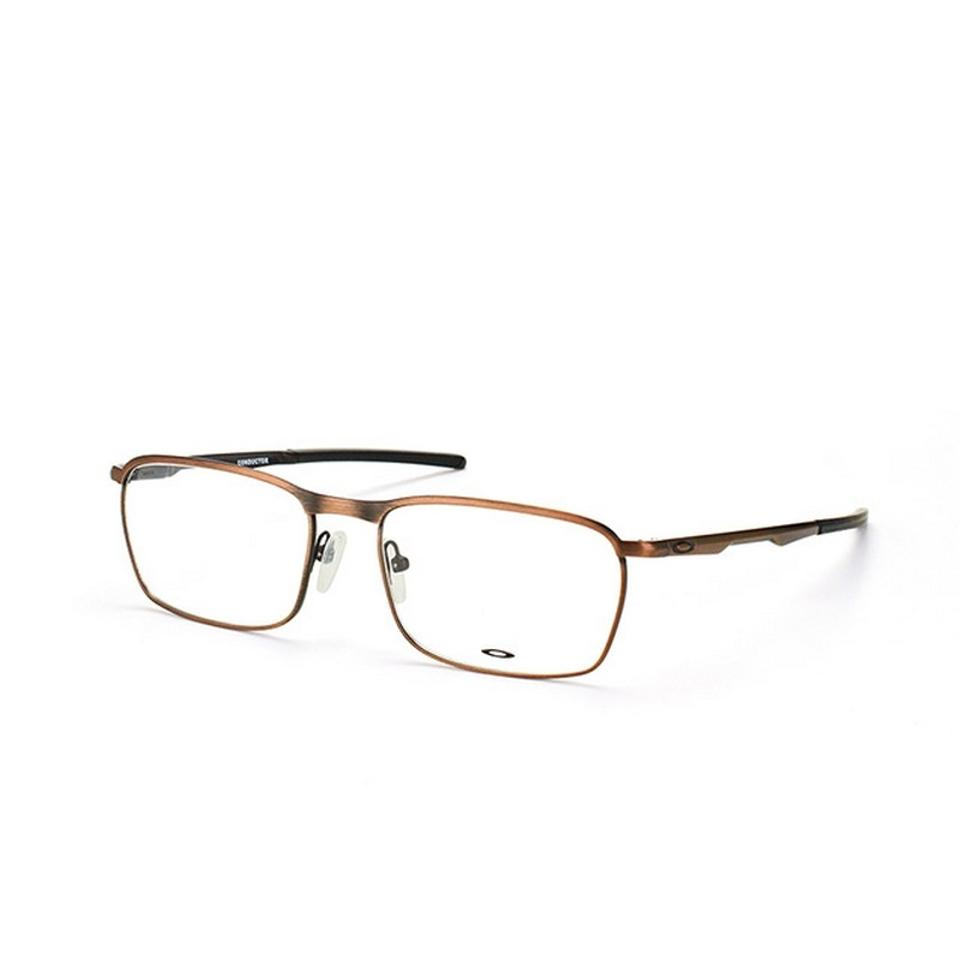 a9d6e2b6db943 Oakley OX3186-0454 Conductor Men s Toast Frame Clear Lens 54mm Eyeglasses  NWT Image 0 ...