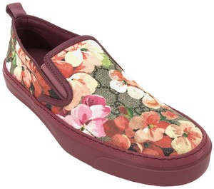 Gucci 408511 Sneakers Blooms Slip On Multicolor Flats