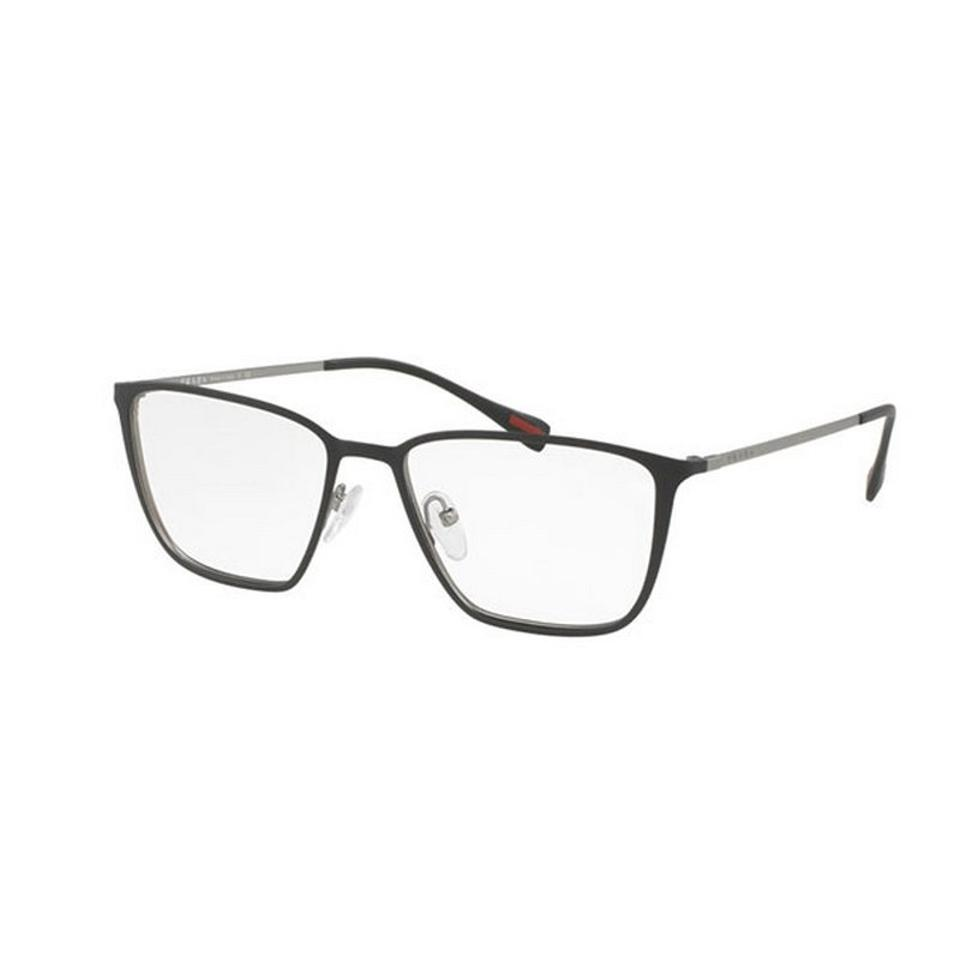 Prada Sports Ps51hv-u6u1o1-52 Men\'s Grey Frame Clear Lens Sunglasses ...