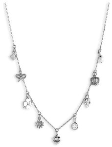 Juicy Couture Juicy Couture LAST ONE... Boxed 'Icons' Charm Necklace