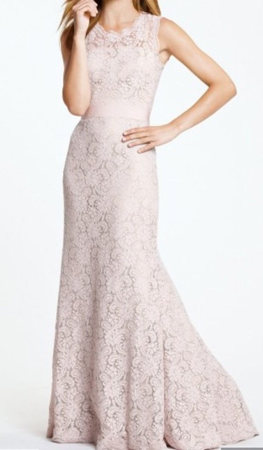 Item - Blush Lace Andrea 5220 Vintage Bridesmaid/Mob Dress Size 2 (XS)