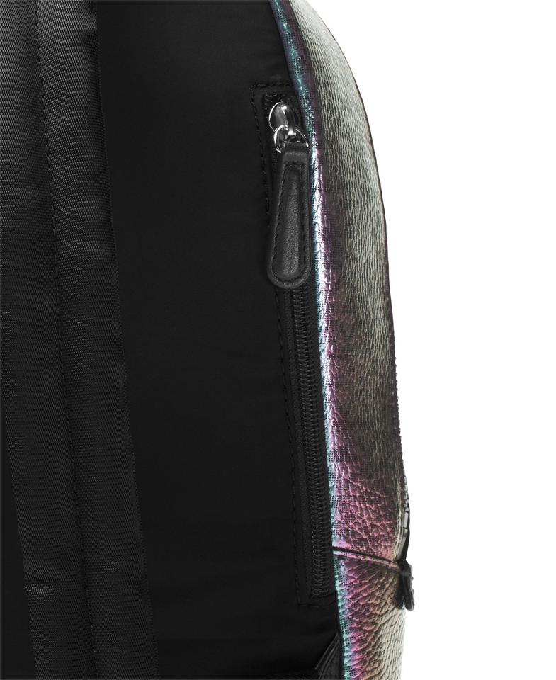 1f3b53df833df8 Michael Kors Iridescent Hologram Signature Backpack Image 9. 12345678910