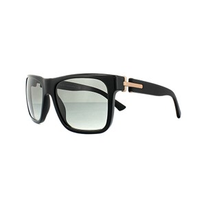 BVLGARI New Bvlgari Sunglasses BV7022 530911 Polished Black Frame Grey Lens
