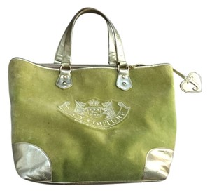 Juicy Couture Green / gold Travel Bag