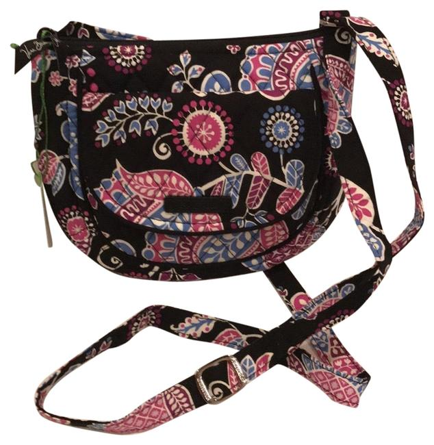 Item - Lizzy Alpine Floral Cotton Cross Body Bag