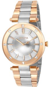 Invicta INVICTA Women's Angel Quartz Crystal Accented Bracelet Watch 23727