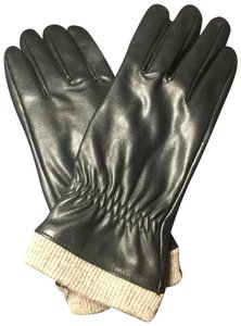Leatherock leather gloves with wool lining
