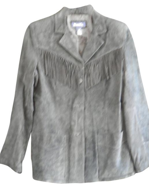 Preload https://item3.tradesy.com/images/denim-and-co-black-suede-leather-jacket-size-6-s-2294792-0-0.jpg?width=400&height=650