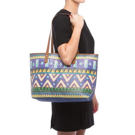 Sun N Sand Accessories Tote in Navy Comination Image 3