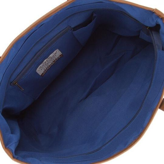 Sun N Sand Accessories Tote in Navy Comination Image 4