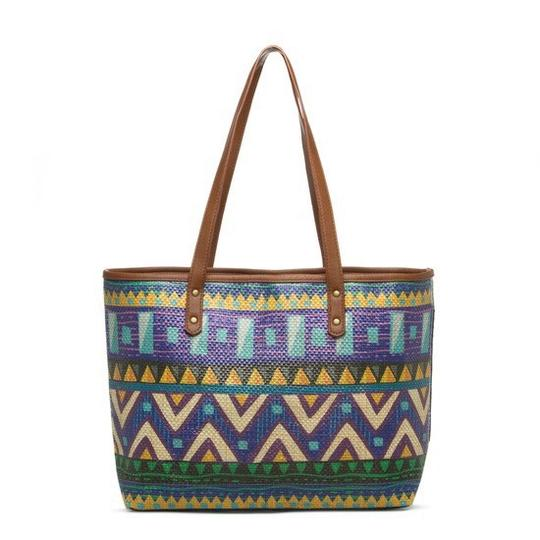 Sun N Sand Accessories Tote in Navy Comination Image 7
