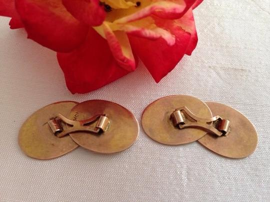 Other Vintage 10k Gold Cufflinks Not Engraved.