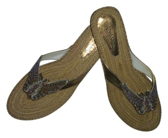 Lena Luisa Straw and Multi Sandals