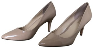 Kelly & Katie Patent Leather Nude Pumps