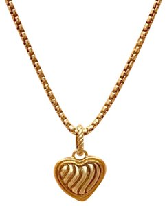 David Yurman David Yurman Cable Collectibles Heart Charm for Necklace