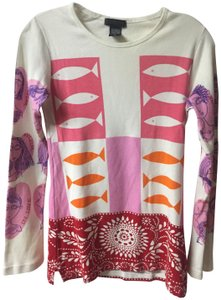 Custo Barcelona Awesome Arm Design Chic Boho Cool Sweater