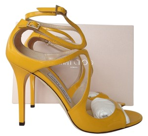 Jimmy Choo Lang YELLOW Sandals