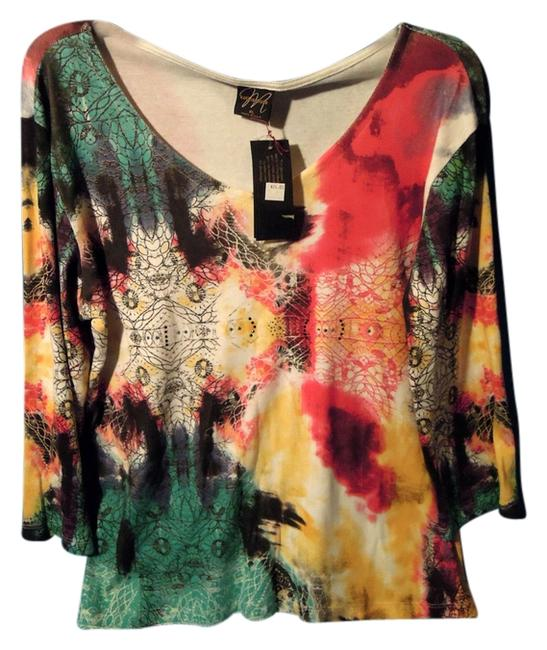 Preload https://item5.tradesy.com/images/multicolor-rn-114847-styleav238-3-blouse-size-16-xl-plus-0x-2294999-0-0.jpg?width=400&height=650