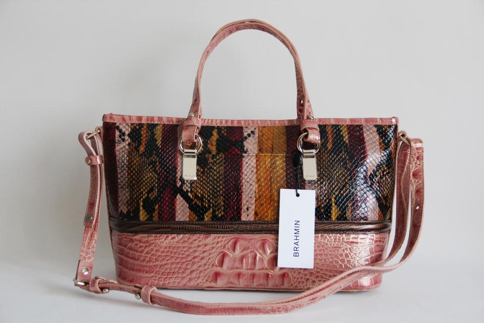 Multicolor Satchel Miramar Asher Leather Brahmin vE8qSwxA0q