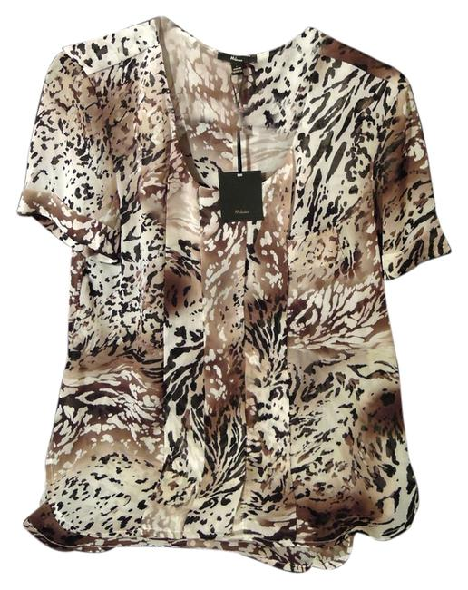 Preload https://item1.tradesy.com/images/6959-6327-color-brown-blouse-size-12-l-2295040-0-0.jpg?width=400&height=650