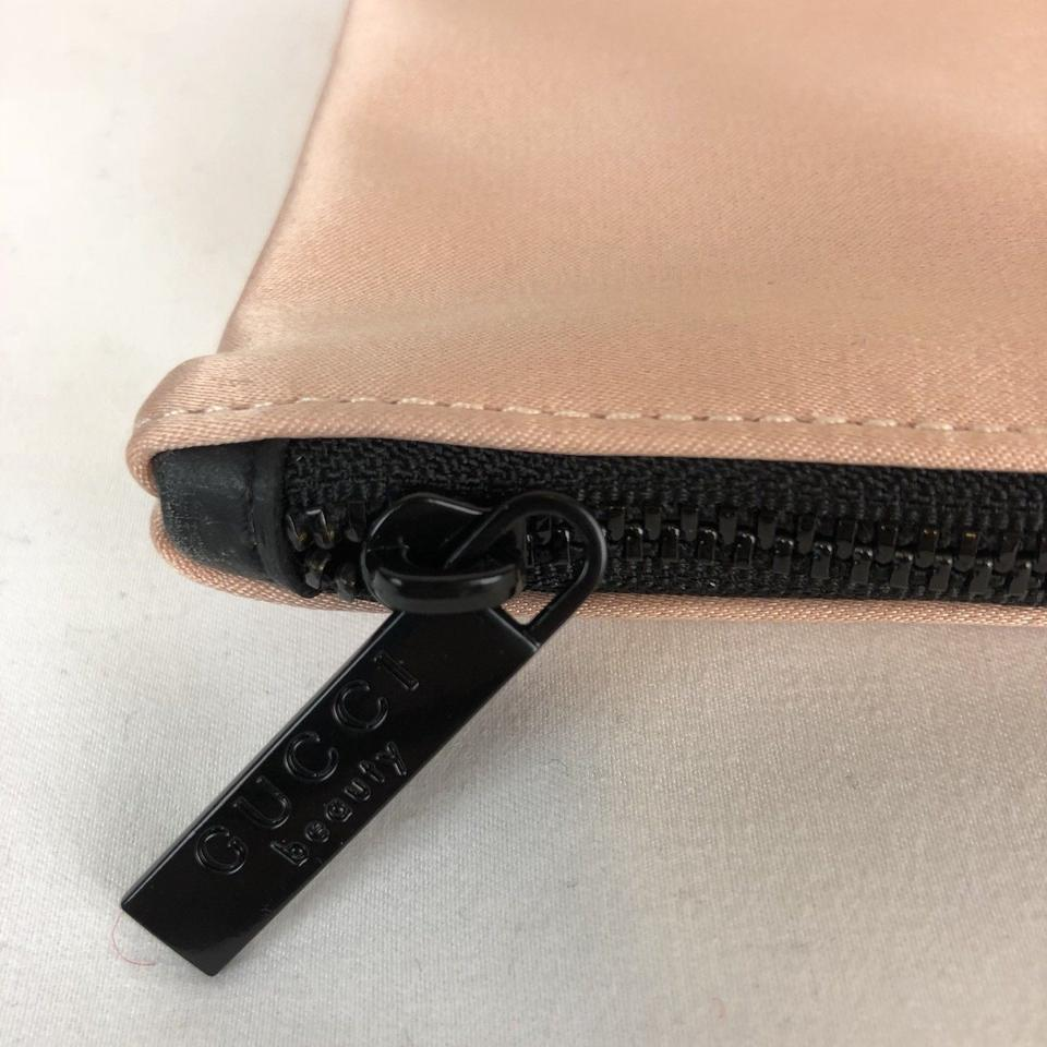 19f9db74bbb Gucci Gucci Bloom Pouch Cosmetic Hand Bag Makeup Case Clutch blush pink  nude Image 5. 123456. 1 ∕ 6