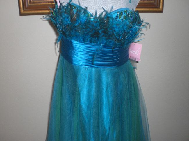 Item - Green Peacock-prom-dress-wx-8538-alexia-designs-size-14 Peacock-prom/Speci Formal Bridesmaid/Mob Dress Size 14 (L)