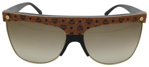 MCM MCM MCM107S 253 Brown Visetos Tea Cup Sunglasses NEW!