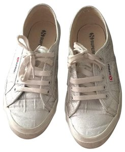 Superga silver Athletic