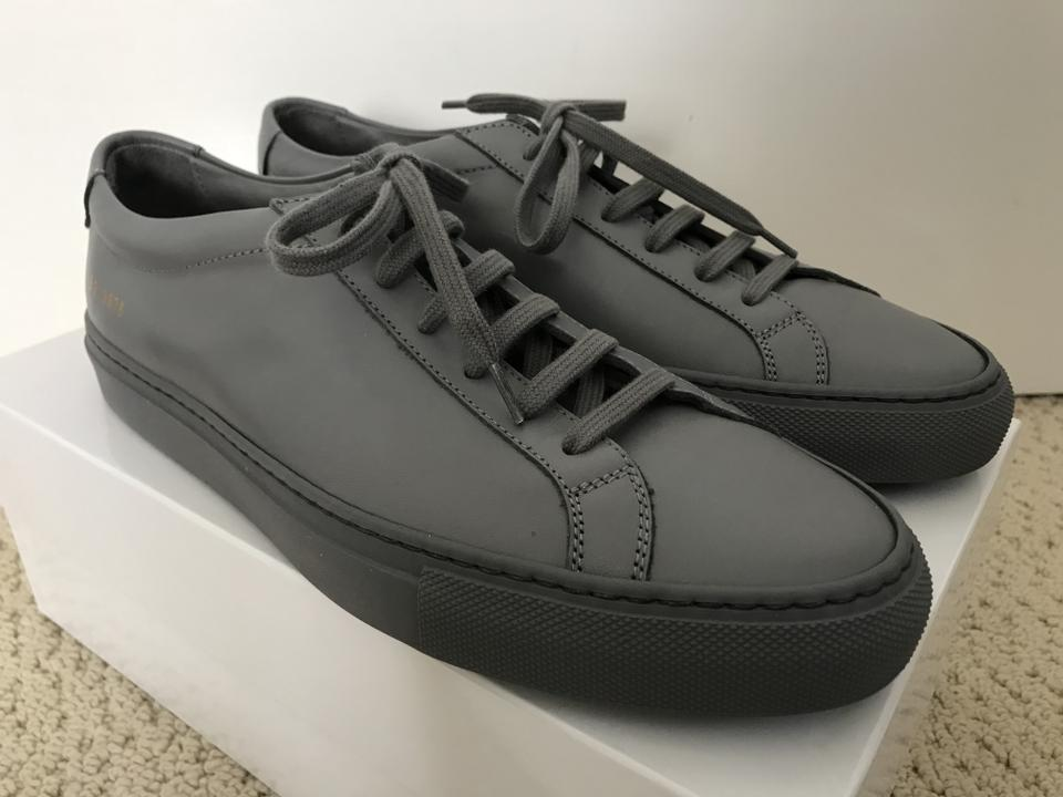 8bcfcd0b9ea5c Common Projects Gray Woman Achilles Leather Low Sneakers Sneakers Size EU  39 (Approx. US 9) Regular (M