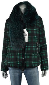 Moncler Down Fur Puffer Lievre Coat