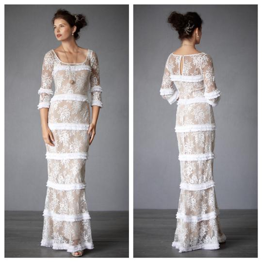 Preload https://img-static.tradesy.com/item/22951759/bhldn-ivory-nude-lace-esprit-de-corps-gown-vintage-wedding-dress-size-6-s-0-1-540-540.jpg