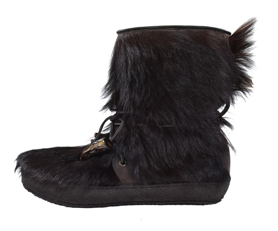 a17f3b72eab Moncler Brown Men's Fur Leather Clusone Ankle 8/41 New Boots/Booties Size  US 8 Regular (M, B) 64% off retail