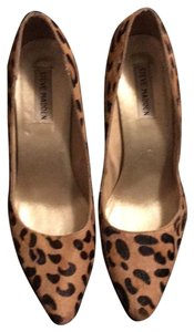 Steve Madden leopard / Black Pumps
