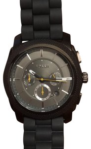 Fossil Men's Fossil Chronograph watch with adjustable silicon strap