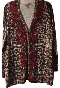 Chico's cheetah print Jacket