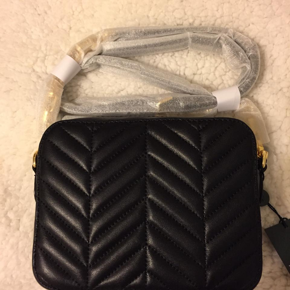Ralph Lauren Quilted Black Leather Cross Body Bag - Tradesy c49265bcdb57a
