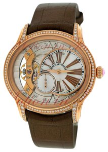 Audemars Piguet Audemars Piguet Millenary Ladies Openworked Rose Gold on Strap
