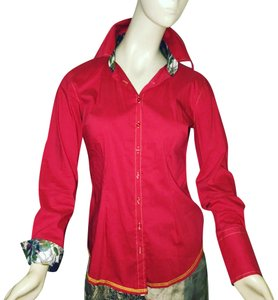 Georg Roth Los Angeles Button Down Shirt red