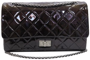 Chanel Reissue 227 Double Flap Vernis Shoulder Bag