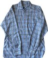 Burberry London Longsleeve Shirt Blue Women Men Button Down Shirt