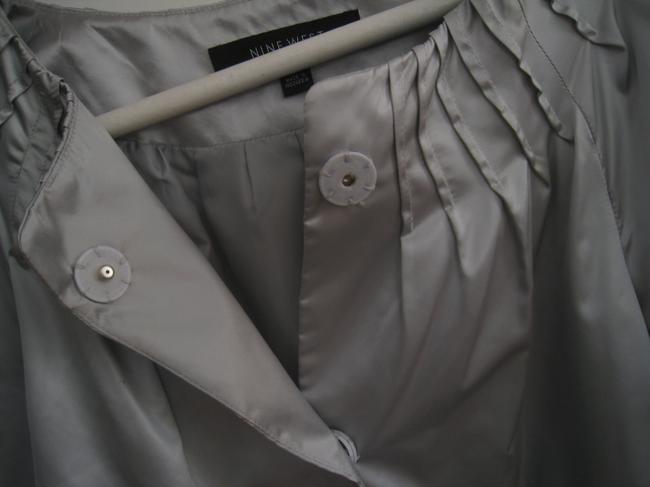 Nine West Top Silver- Gray Image 2