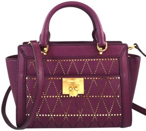 Michael Kors Satchel in Purple Plum