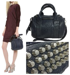 Alexander Wang Satchel in Navy Blue