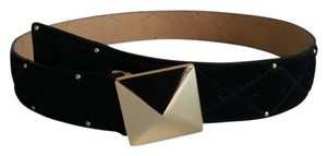 Vince Camuto Vince Camuto genuine suede leather belt black size S,M or L NEW W TAGS