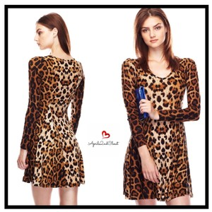 Cecico short dress Animal Print leopard brown on Tradesy