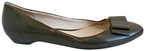 Autograph Bow Bows Pointed Brown Flats