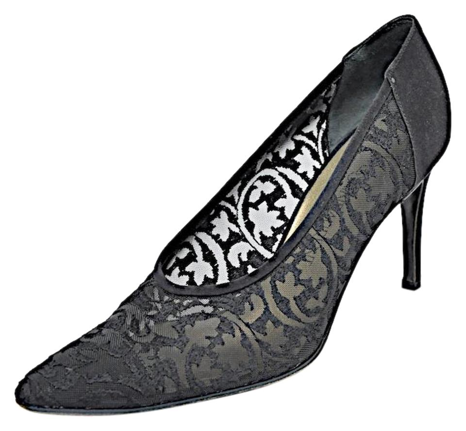 20001a882 Saint Laurent Ysl Vintage Pumps Ysl Vintage Evening Black lace Formal Image  0 ...