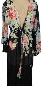 SAACHI Top black and floral
