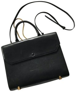 Alexander Wang Satchel in Black with gold tone hardware